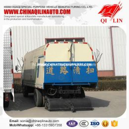 High Performance 90km/H Road Sweeper Tanker Truck for Sale