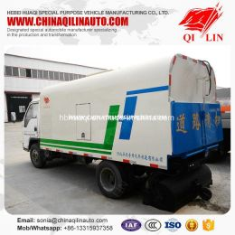 3cbm Mini Street Road Sweeper Tanker Truck Made in China