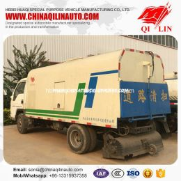2 Axles Street Sweeping Truck with ABS System