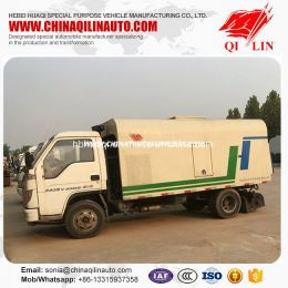 2 Tons Payload Road Dust Cleaning Truck Made in China