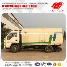 Cheap Price 4X2 Chassis Road Sweeping Truck