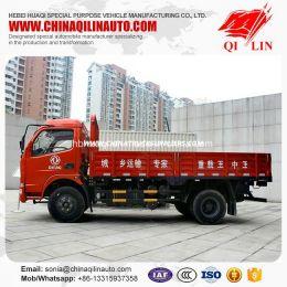 DFAC 4X2 5 Tons Side Wall Drop Light Cargo Truck