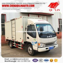 JAC 4X2 5 Tons Light Cargo Box Truck for Sale