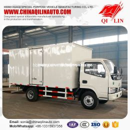 Factory Hot Sale 4X2 Euro 3 Emission Cargo Van Truck