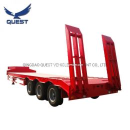 3axle Drop Deck Trailer Heavy Duty Low Bed Truck Trailer Lowbed