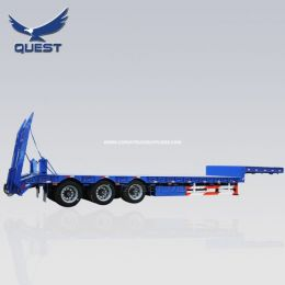 45FT Drop Deck 3axle Carrying Container Lowbed Semi Trailer