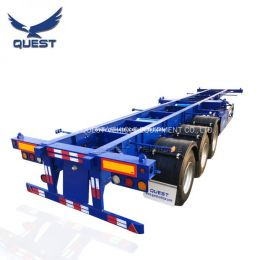 Skeleton 3axles 20FT 40FT Container Chassis Container Semi Tru