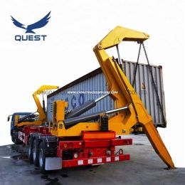 20FT 40FT 45FT Hydraulic Side Lifter Container Side Loader Tra