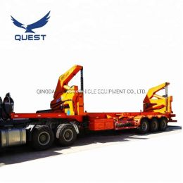 40FT Skeleton Side Loader Truck 3axle Sidelifting Container Se