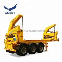 Factory Quest 20FT 3axles Self Loading Container Side Lifter Trailer