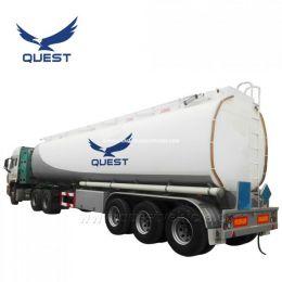 48000 Liters Fuel Oil Tanker Semi Trailer