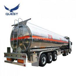 40000 Liters Tri-Axle Aluminum Fuel Oil Tanker Semi Trailers