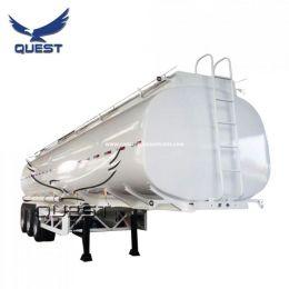 2 Compartments 40000 Liters Water Tank Trailer Liquid Fuel Tanker Semi Trailer