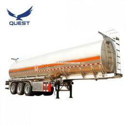 45000 Liters Tri Axle Aluminum Tank Oil Fuel Tanker Trailer