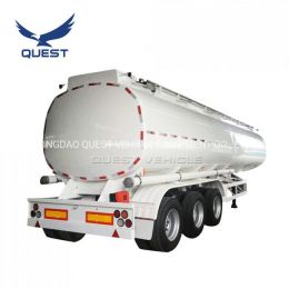 Carbon Steel Diesel Oil Tank 45000liters Fuel Tanker Semi Trailer