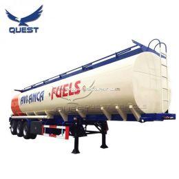Palm Oil Transfer Tank Semi Trailers Fuel Oil Tanker Trailer
