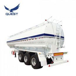 3 Axle 40-50m3 Oil Tank Fuel Tanker Semi Truck Trailer