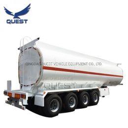 50000liters Gasoline Oil Tank Trailers 4 Axle Fuel Tanker Trailer
