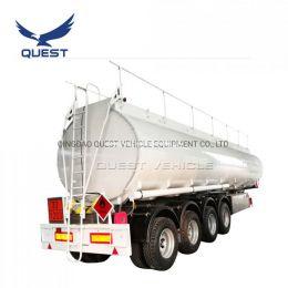 3 Axle 45000 Liters Oil Diesel Tank Trailer Fuel Tanker
