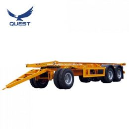 Quest 20feet Double Steering Container Drawbar Trailer Full Trailer