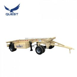 Quest 2axle 20FT Full Truck Drawbar Trailer Container Dolly Trailer