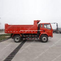 China Sinotruk 4X2 10ton Light Dump Truck Tipper Truck