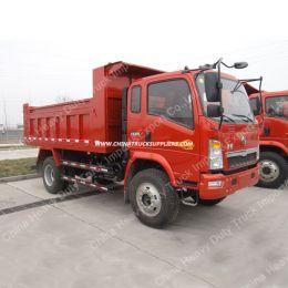 Sinotruk HOWO 4X2 High Quality Light Tipper/Dump Truck