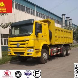HOWO 6X4 10 Wheeler Dump Truck, 30tons Power Wheel Tipper Truc