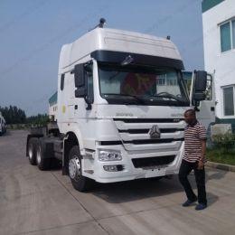 China Made Brand HOWO 6X4 10 Wheel Tractor Truck