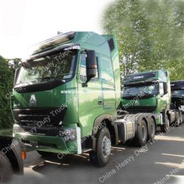 Sinotruck HOWO 6X4 Tractor Truck with 371HP Engine Prime Mover