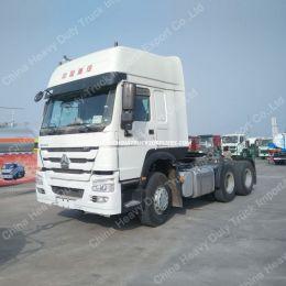 Sinotruk HOWO Tractor Truck Head with 420HP Enginen Trailer Head