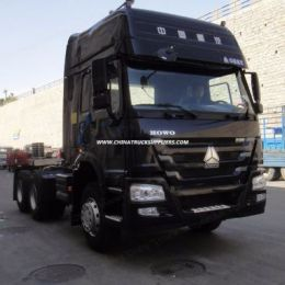 New Technology 371/420HP HOWO A7 Euro 2 Tractor Truck Head