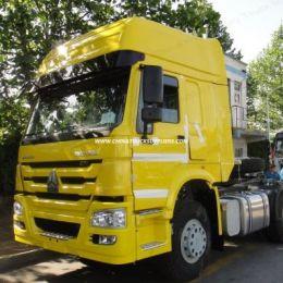 HOWO 336/371HP 6*4 Type Man Engine Tractor Truck Trailer Head
