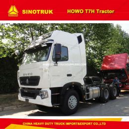 HOWO T7h 12 Speed Manual 6 Wheeler Tractor Truck