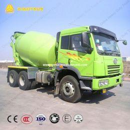 6cbm FAW 6X4 Transit Concrete Mixer Truck