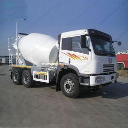 FAW 8-10m3; 6X4 Concrete Mixer Truck, Concrete Mixer Concrete Truck