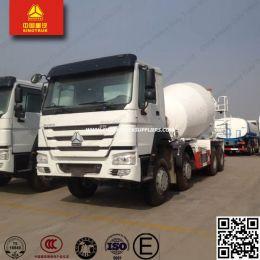 12cbm HOWO Sinotruk 8X4 Concrete Mixer Truck/Cement Mixer Truck
