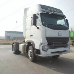 Low Ratio HOWO A7 4X2 290HP Tractor Truck Trailer Truck