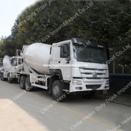 10/11/12 Cbm 6X4 New Concrete Mixer Truck/Ready Mix Concrete Trucks