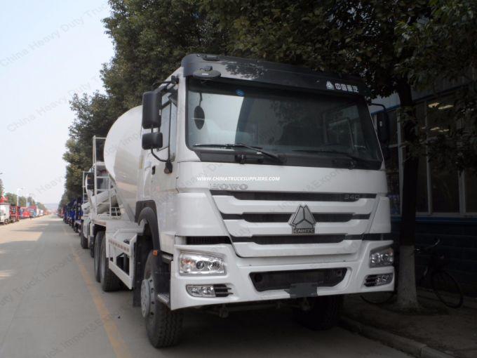 9cbm 30ton 336HP HOWO 6X4 Concrete Mixer Truck for Construction