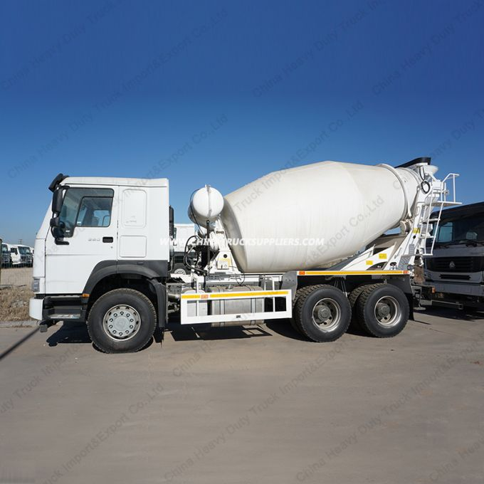 8m3 Sinotruk HOWO 6X4 Concrete Mixer Trucks/Cement Mixer Images 1