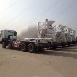 Sinotruk HOWO 8X4 12m3 Concrete Mixer Truck