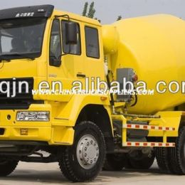 Sinotruk Golden Prince 6m3 Concrete Mixer Drum with Hydraulic Operating Handle