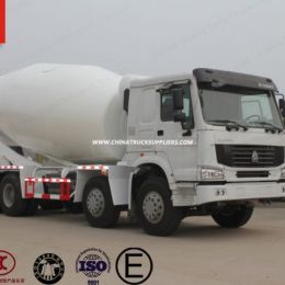 Sinotruk HOWO 8X4 12m3 Concrete Mixer Truck Agitator Truck