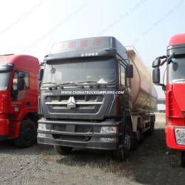 45m3 8*4 LHD HOWO Powder Tank Truck/Bulk Cement Truck