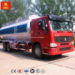 HOWO 6X4 30cbm Bulk Cement Power Tank Truck