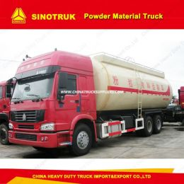 Sinotruk 6X4 Heavy Duty Bulk Cement Tank Truck Bulk Truck