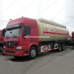 HOWO 6X4 336HP Heavy Duty Bulk Cement Tank Truck