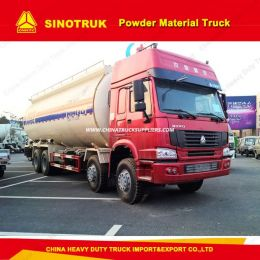 Sinotruk HOWO 8*4 12wheelers Bulk Cement Trucks/Dust Nmaterial