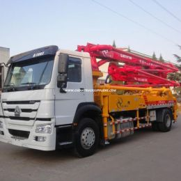 Pump Trucks HOWO 29m Lifted Height Concrete Pump Truck